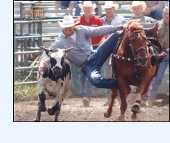 Go Wild! Go West! Part of the Duane Daines Saddle Bronc Series, Sundre's Pro Rodeo offers three thrilling days of rodeo action, including barrel racing, cow milking, BS BINGO, a pancake breakfast, downtown parade, cowboy cabaret, and a midway for the kids.